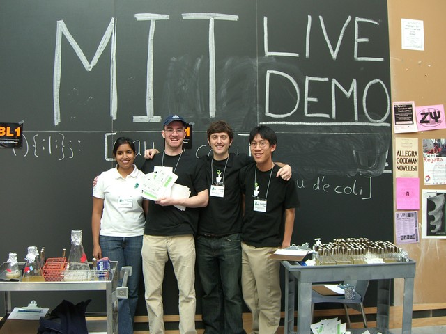 ginkgo team iGEM 2006 live demo